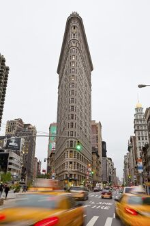 USA, New York City, Manhattan, Flatiron building