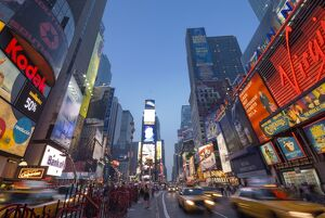 USA, New York City, Manhattan Times Square