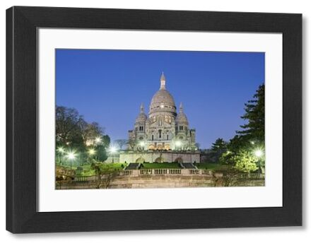 France, Paris. Basilica of Sacre Coeur, Montmartre