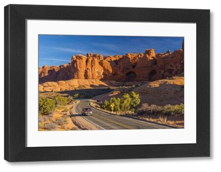 USA, Utah, Arches National Park, The Windows Road