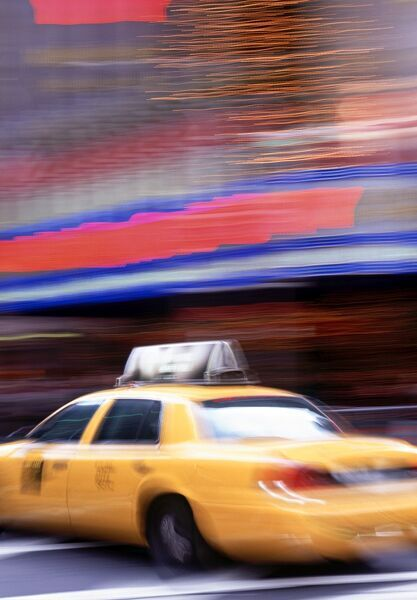 Taxi Cab, New York City, USA