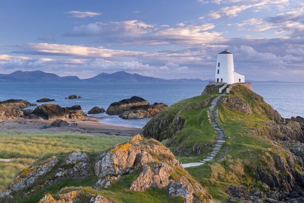 Prints Of Twr Mawr Lighthouse On Llanddwyn Island In