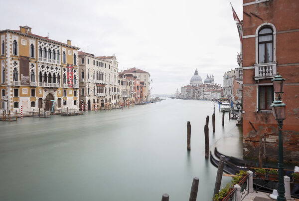 View of The Cran Canal from the Accademia Bridge, Venice, Veneto, Italy