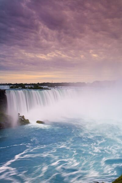 Waterfall at Niagara Falls, Ontario, Canada