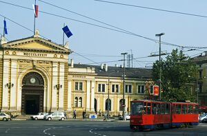 The Balkans Serbia Belgrade Train Station