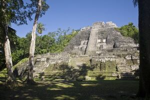 Belize, Lamanai, High Temple - The highest temple in Lamanai