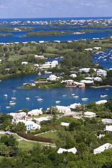 Bermuda, view from Gibbs Hill overlooking Southampton Parish