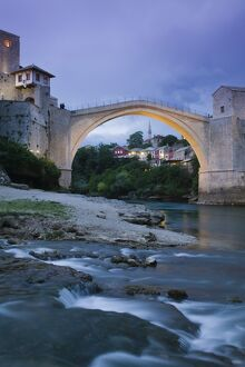 Bosnia and Herzegovina, Mostar, The Old Bridge (Stari Most)