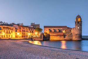 Collioure, Pyrenees-Orientales, France