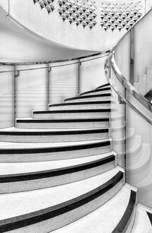 Europe, United Kingdom, England, Middlesex, London, Tate Britain Staircase