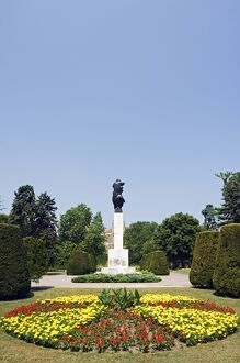 Garden in the Grounds of the Kalemegdan Citadel