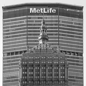 Helmsley and MetLife buildings, Park Avenue, Manhattan, New York City, New York, USA