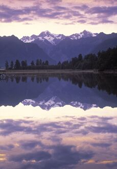 Lake Matheson, Mt