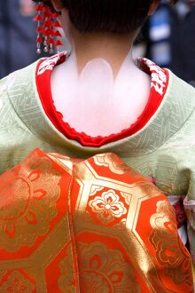 Maiko (apprentice Geisha), Gion district, Kyoto, Japan