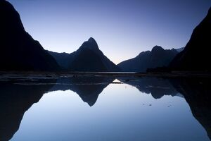 Mitre Peak, Fjordland National Park, South Island, New Zealand