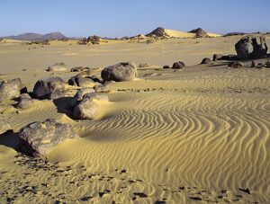 The Northern or Libyan Desert in northwest Sudan is