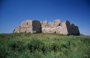 Overall view of Kyzyl Kala built around 3rd Century AD