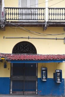 Panama, Panama City, House in Casco Viejo (San Felipe)