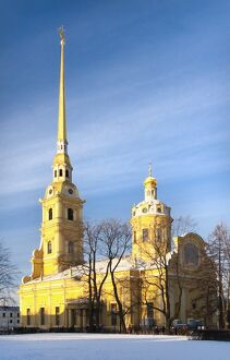 The Peter and Paul Cathedral, Saint Petersburg, Russia