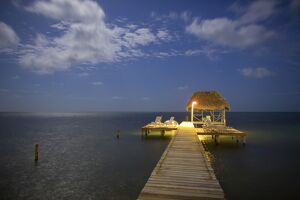 Pier/Jetty, Caye Caulker, Belize