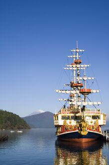 Pirate ship on Ashinoko Lake, Hakone