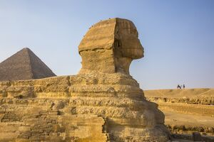 Pyramid of Cheops and the Sphinx, Giza, Cairo, Egypt