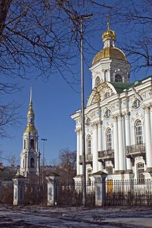Russia; St Petersburg; St Nicholas Cathedral