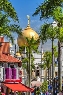 Sultan Mosque and Arab Street, Singapore