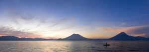 Toliman, Atitlan and San Pedro Volcanoes