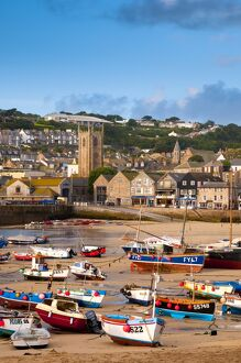 UK, England, Cornwall, St Ives Harbour