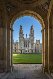 UK, England, Oxfordshire, Oxford, University of Oxford, All Souls College