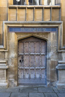 UK, England, Oxfordshire, Oxford, University of Oxford, Bodleian Library