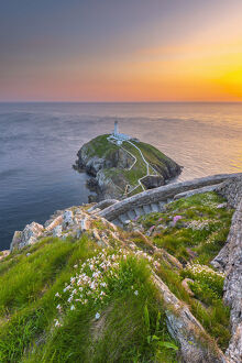UK, Wales, Anglesey, Holy Island, South Stack Lighthouse