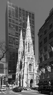 USA, America, American, New York, Manhattan, 5th Avenue, St. Patrick's Cathedral