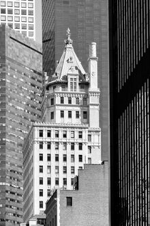 USA, American, New York, Manhattan, Midtown, The Crown Building, 5th Avenue