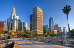 USA, California, Los Angeles, Downtown