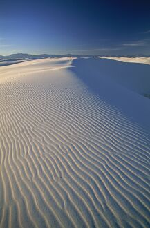 USA, New Mexico, White Sands National Park, Sand Dunes