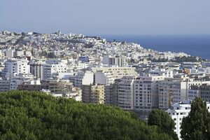 View over Tangier, Morocco