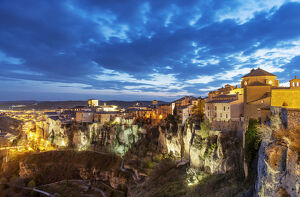 new july 2019/walled town cuenca unesco world heritage site
