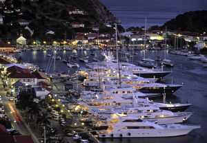 Yacht Harbour, Gustavia, St